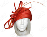 Beret Cloche Hat With Signature Loop Accent - 2 Colors