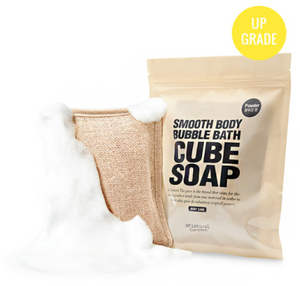 Mr. Song Millinery Bubble Bath Cube Soap - So Natural