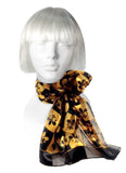 Fleur de Lis Scarf - Assorted Colors