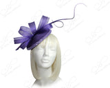Kentucky Derby Profile Dish Fascinator Headband - 2 COLORS