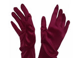 Mr. Song Millinery Satin Stretch Opera-Length Gloves - Assorted Colors