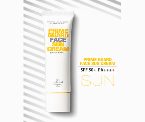 Mr. Song Millinery 2-In-1 Prime Guard Face Primer Cream SPF50 PA++++