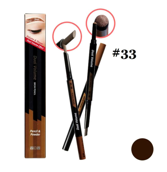 Mr. Song Millinery Dual Volume Brow Pencil - VOV