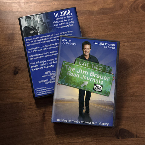 """The Jim Breuer Road Journals"" - Autographed"