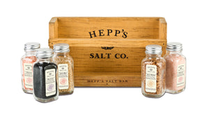 CUSTOMIZE Your Own Salt Bar 5 Pack - HEPPS SALT CO.