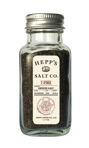 7- Fire Smoked Sea Salt - HEPPS SALT CO.