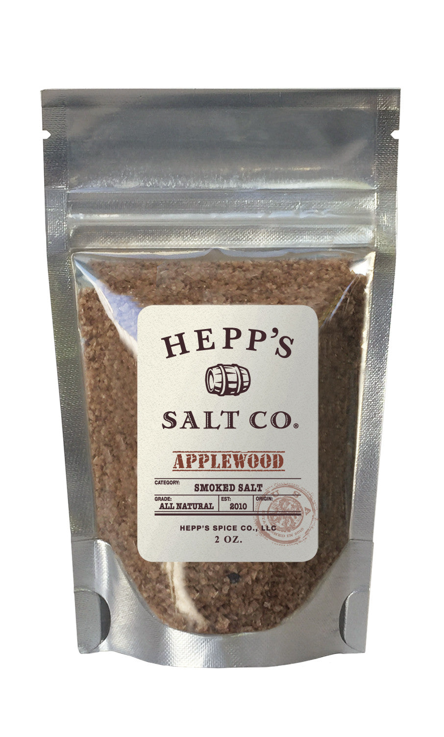 Applewood Smoked Sea Salt - HEPPS SALT CO.