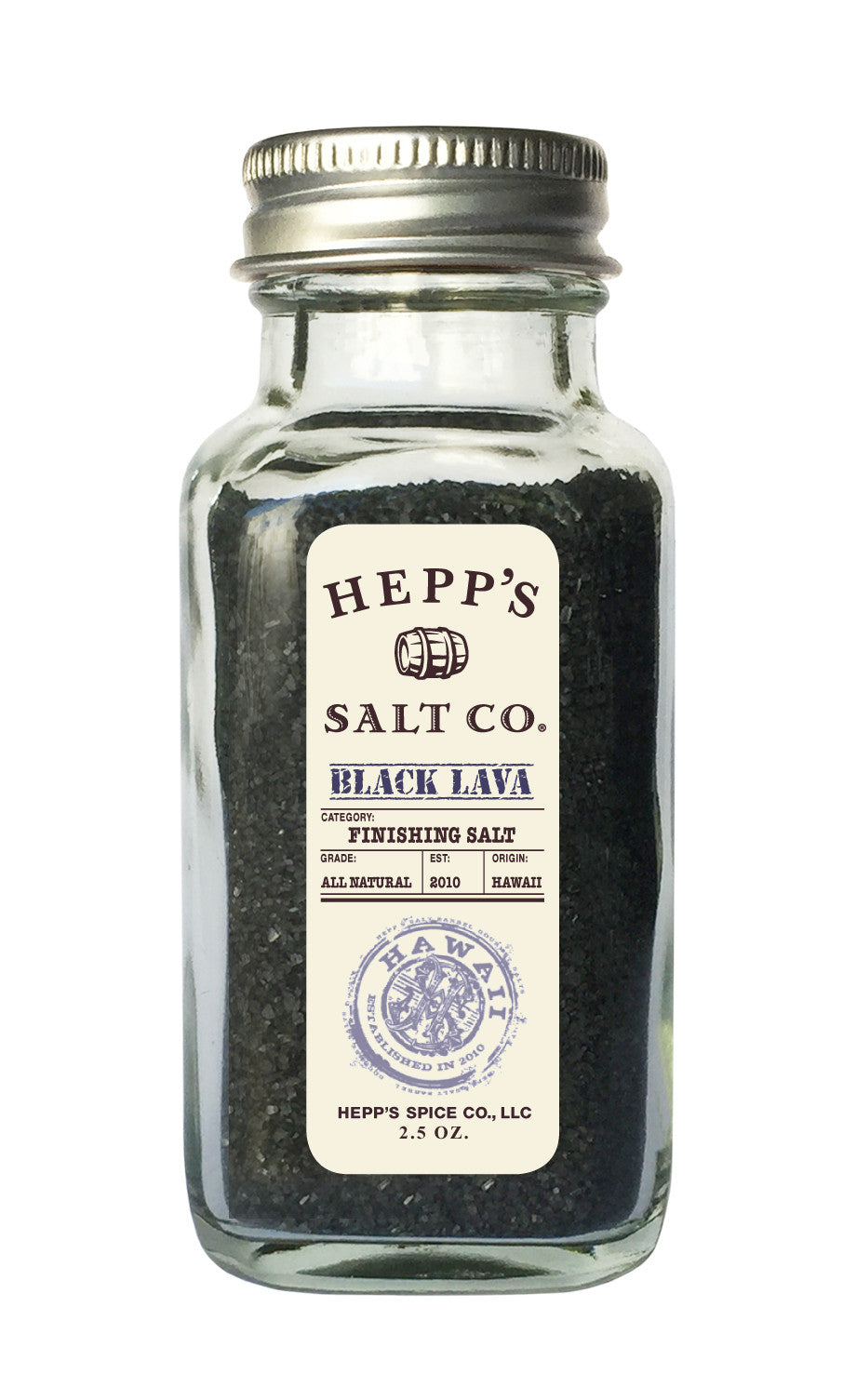 Black Lava Sea Salt - HEPPS SALT CO.