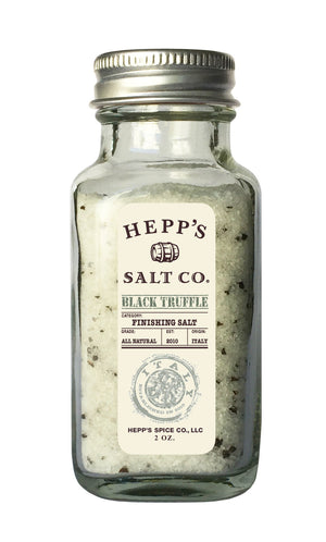 Black Truffle Sea Salt - HEPPS SALT CO.
