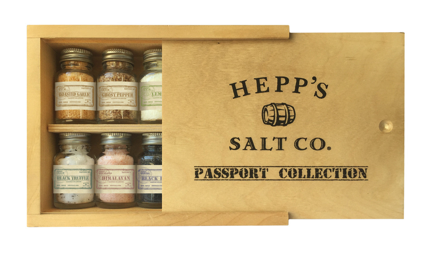 Passport Collection - HEPPS SALT CO.