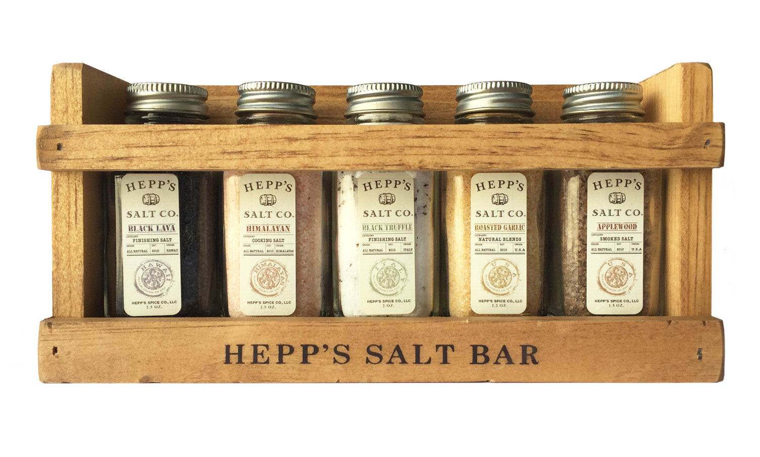 Chef's Collection Gift Set - HEPPS SALT CO.