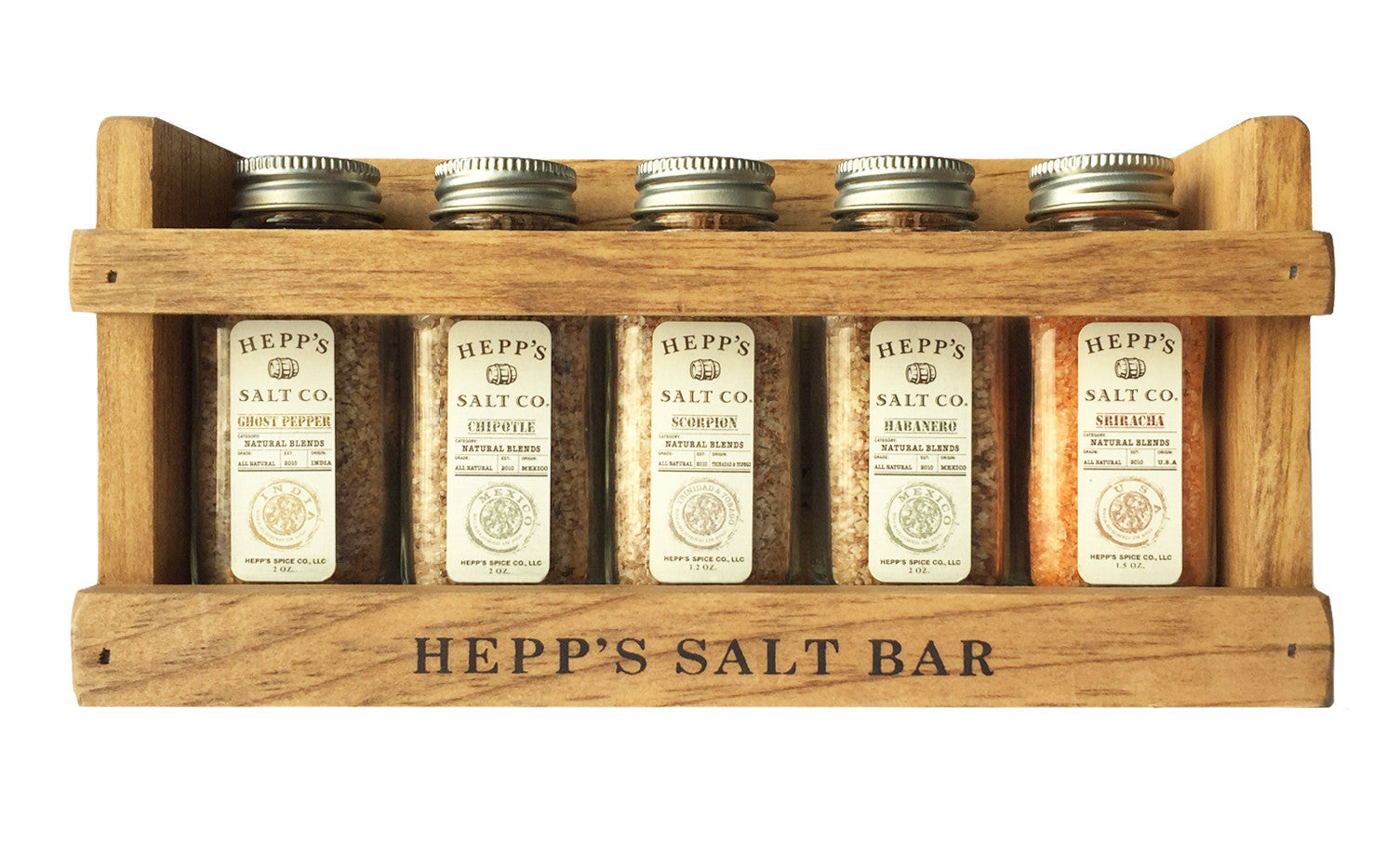 Hot Box Gift Set - HEPPS SALT CO.