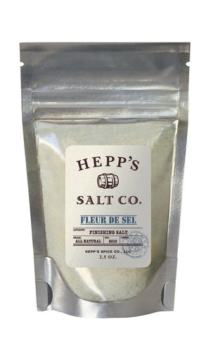 Fleur De Sel Sea Salt - HEPPS SALT CO.