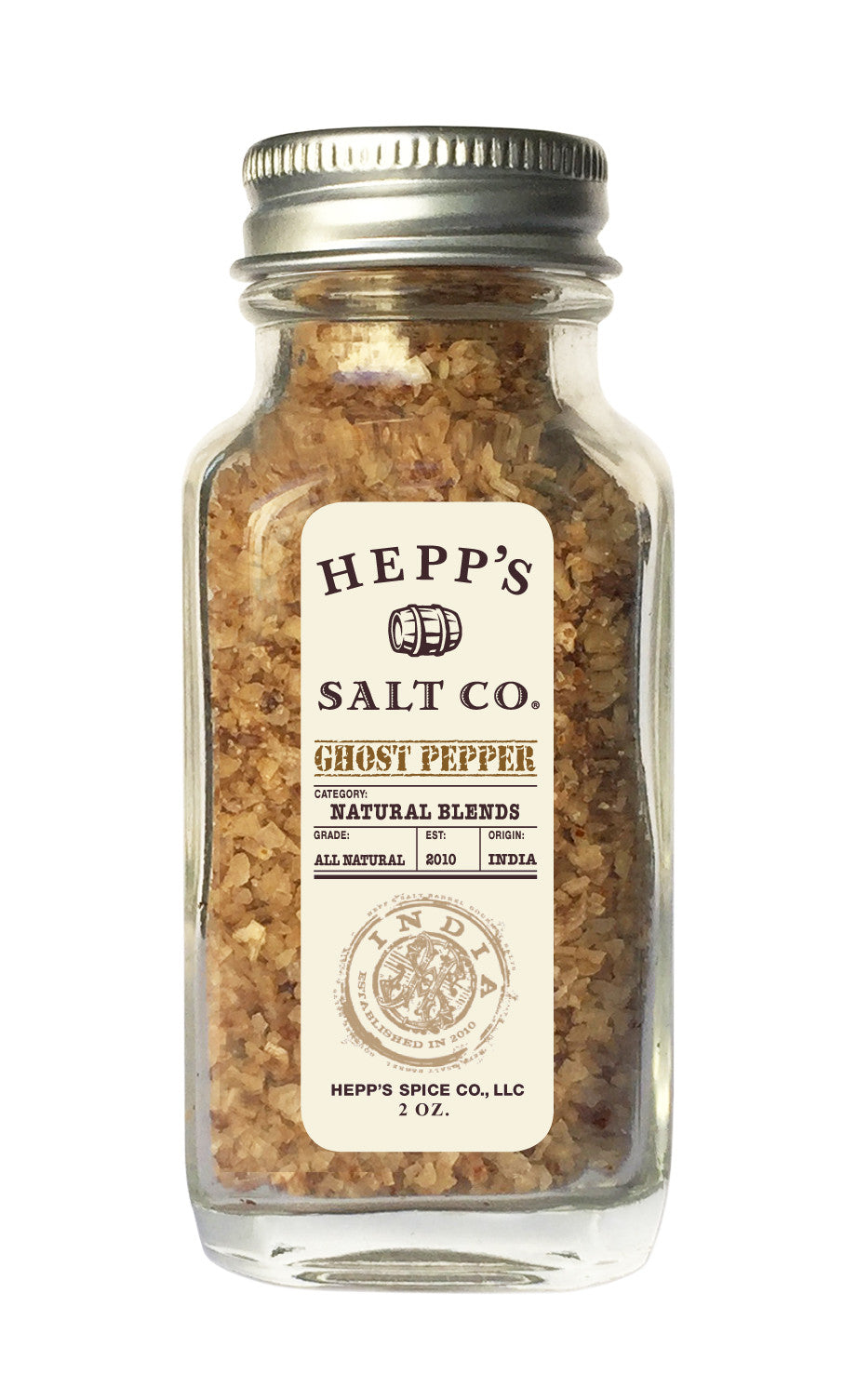 Ghost Pepper Sea Salt - HEPPS SALT CO.