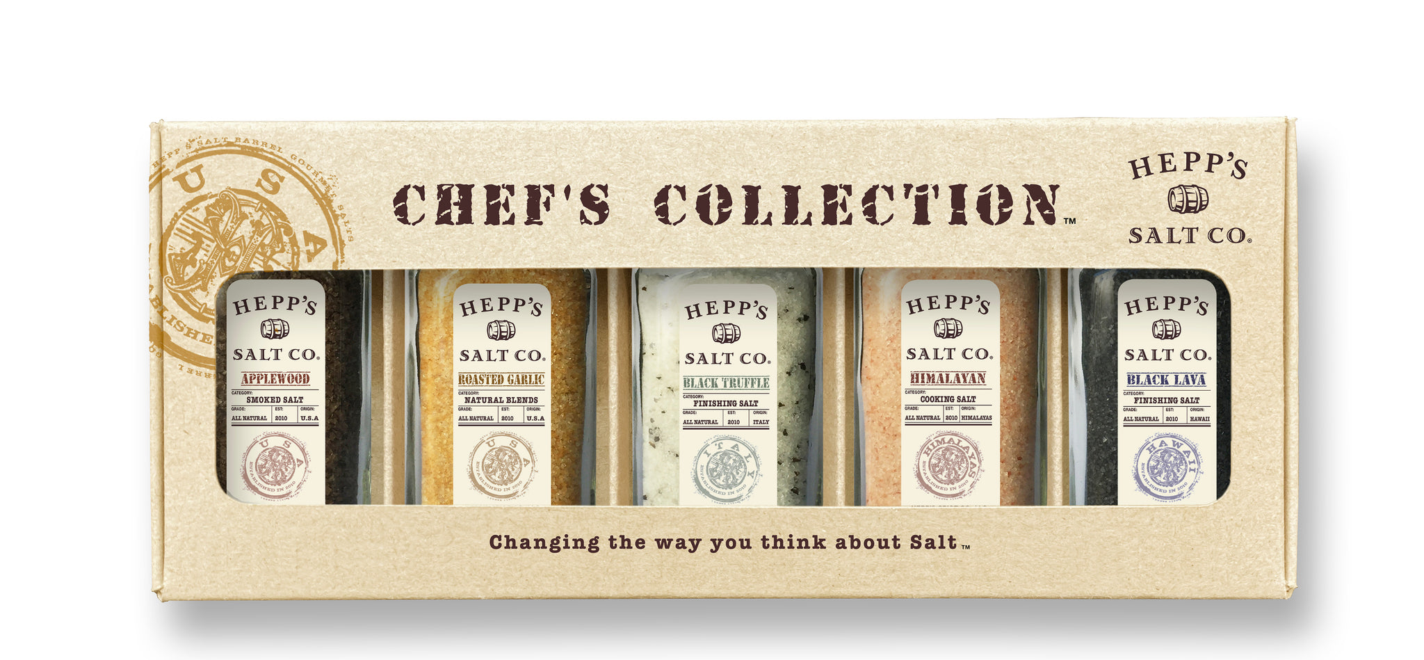 Chef's Collection Gift Box - HEPPS SALT CO.