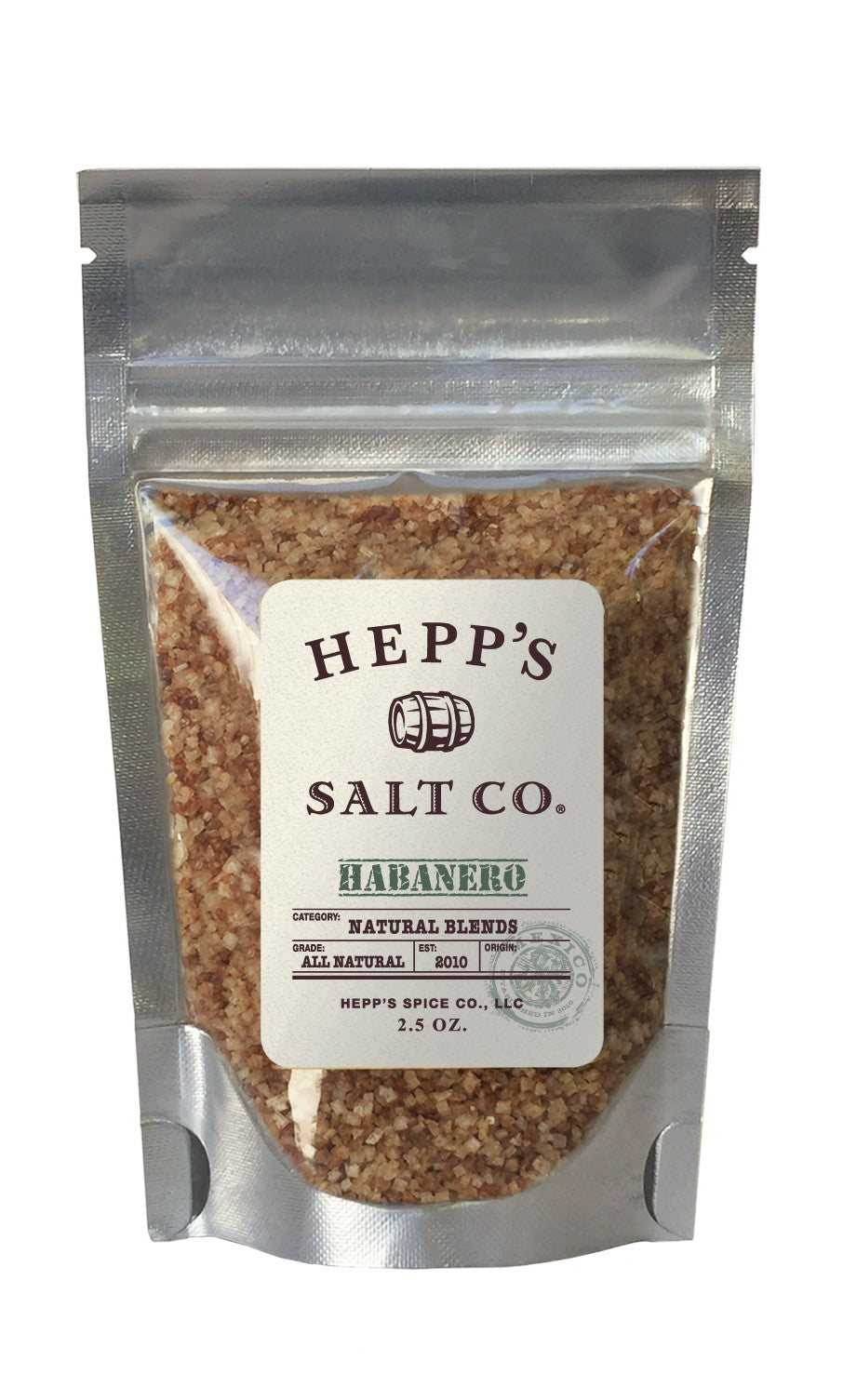 Habanero Sea Salt - HEPPS SALT CO.