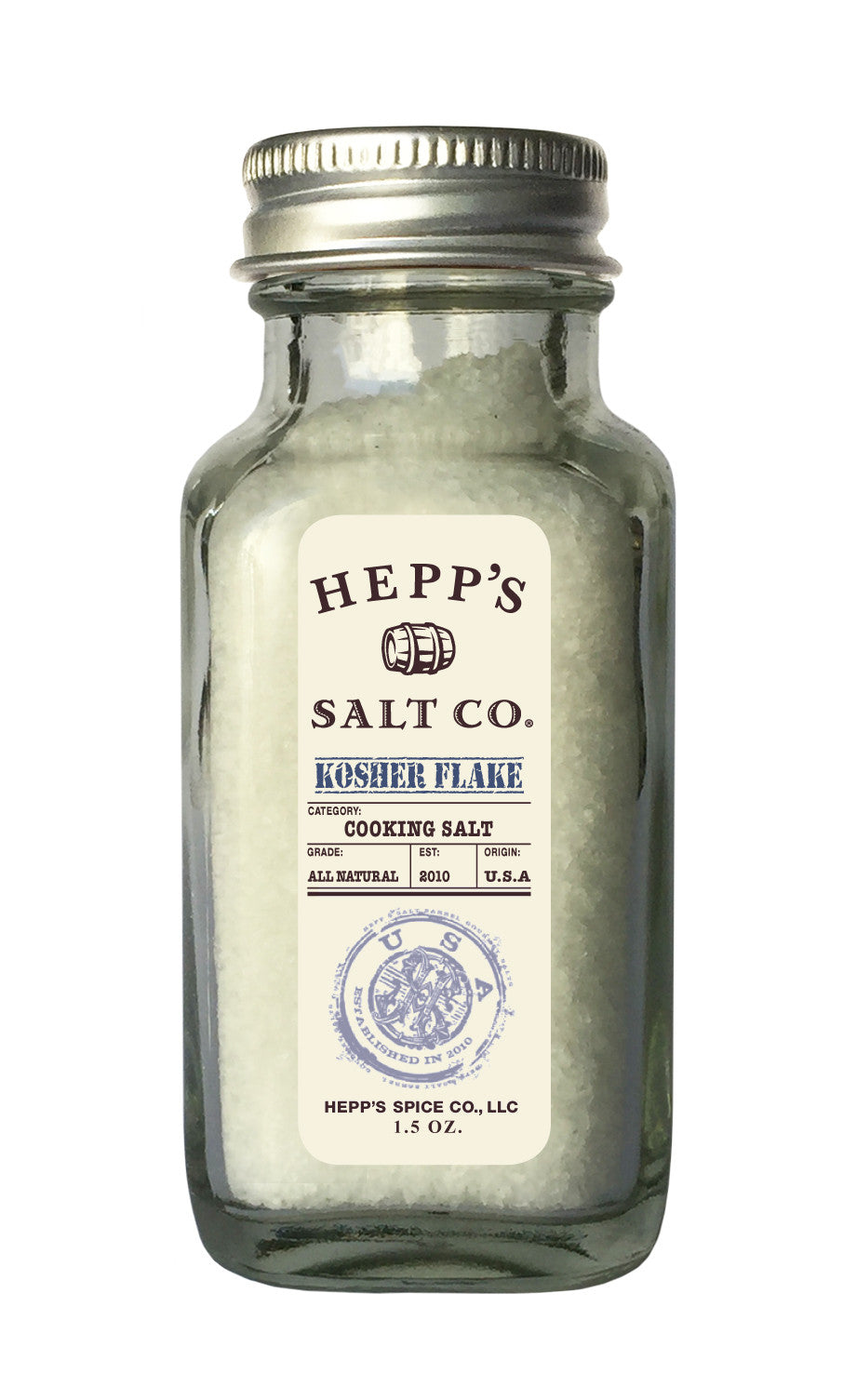 Kosher Flake Sea Salt - HEPPS SALT CO.