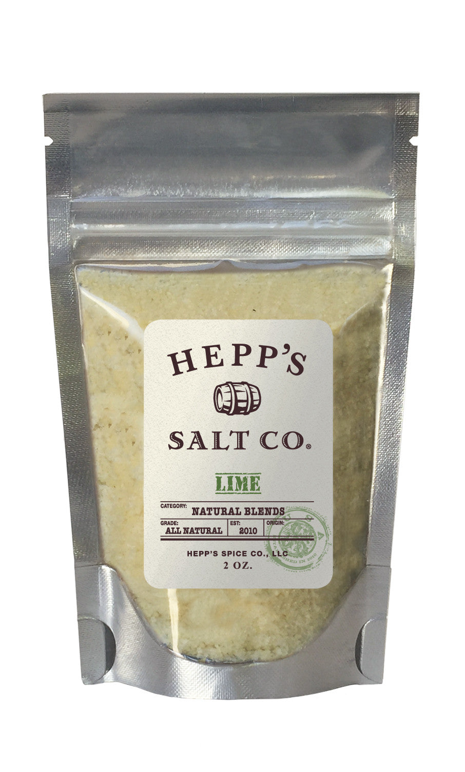 Lime Sea Salt - HEPPS SALT CO.