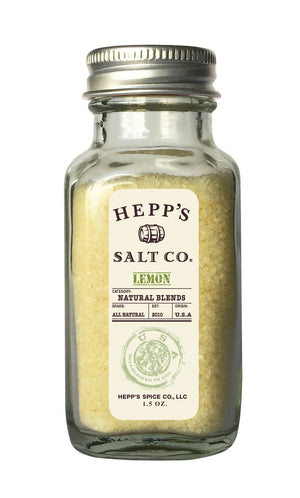 Lemon Sea Salt - HEPPS SALT CO.