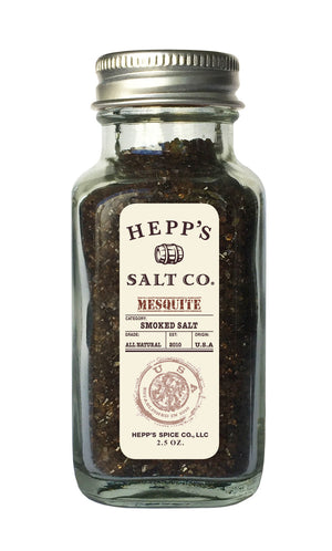 Mesquite Smoked Sea Salt - HEPPS SALT CO.