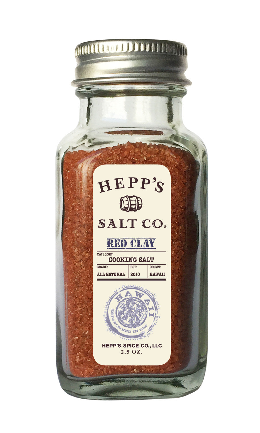 Red Clay Sea Salt - HEPPS SALT CO.