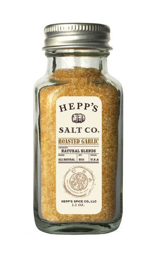 Roasted Garlic Sea Salt - HEPPS SALT CO.