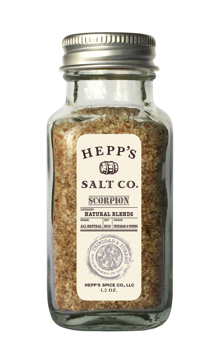 Scorpion Sea Salt - HEPPS SALT CO.