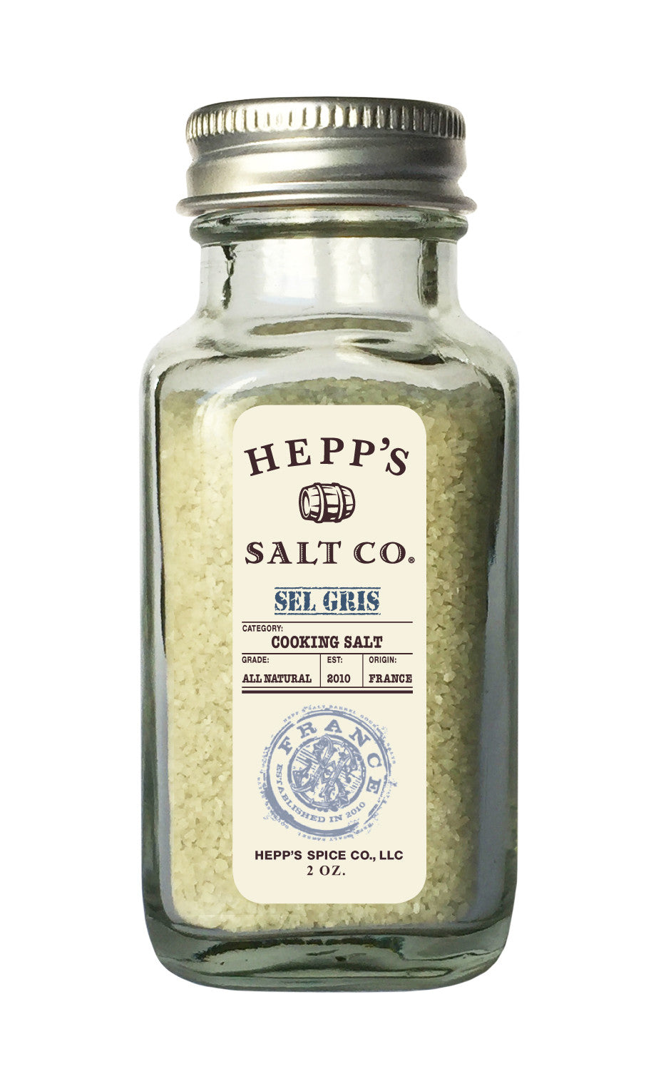 Sel Gris Sea Salt - HEPPS SALT CO.