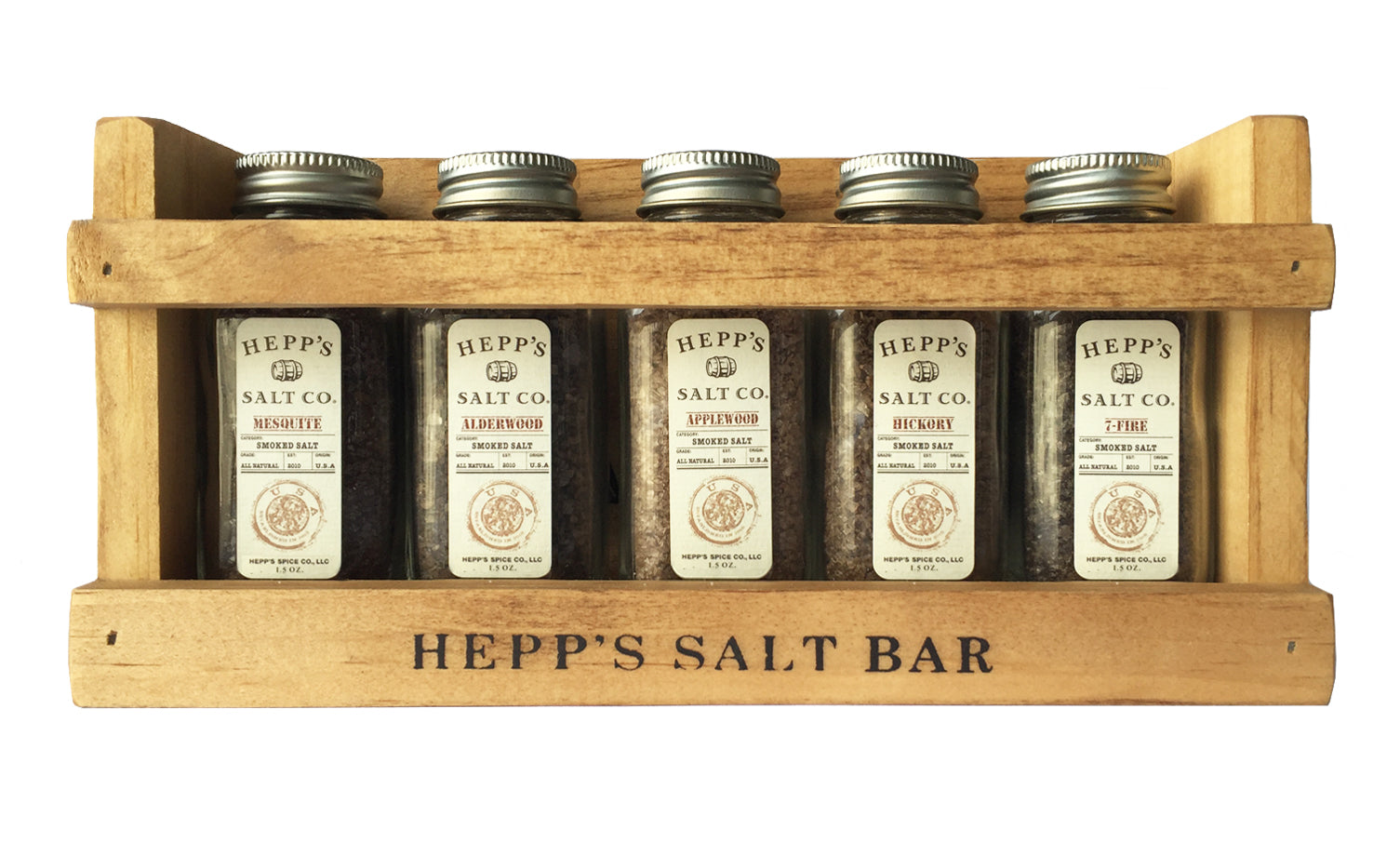Smokehouse Collection Gift Set - HEPPS SALT CO.