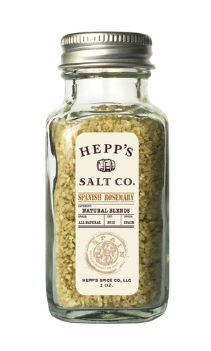 Spanish Rosemary Sea Salt - HEPPS SALT CO.