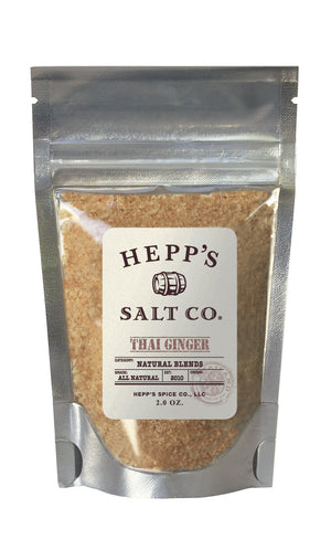 Thai Ginger Sea Salt - HEPPS SALT CO.