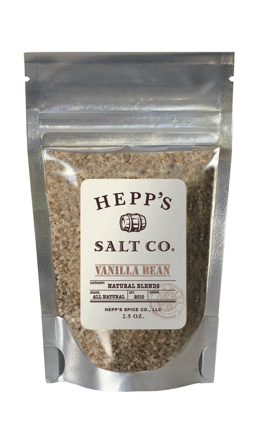 Vanilla Bean Sea Salt - HEPPS SALT CO.