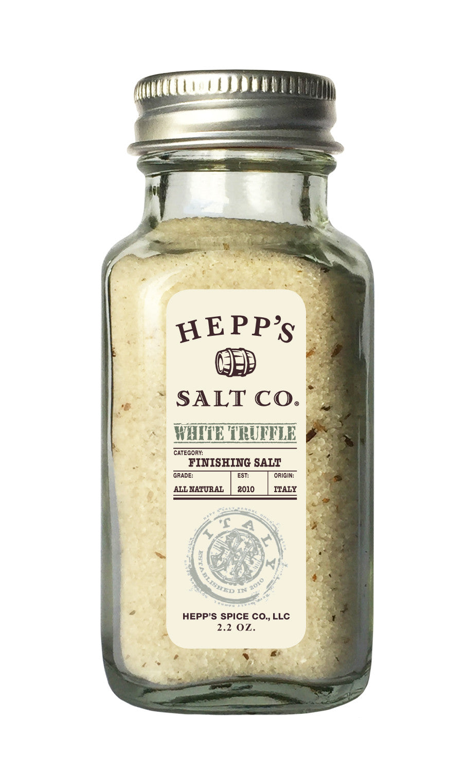 White Truffle Sea Salt - HEPPS SALT CO.