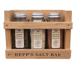 CUSTOMIZE Your Own Mini Salt Bar 3 Pack - HEPPS SALT CO.