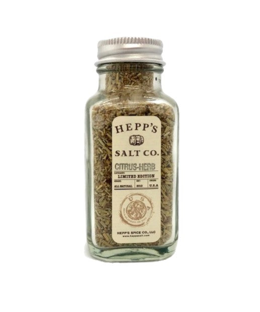 Citrus Herb Sea Salt - HEPPS SALT CO.