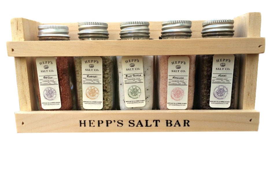 Holiday Gift Set Collection - HEPPS SALT CO.