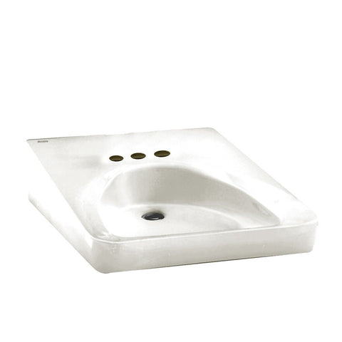 American Standard Wheelchair User 4-Inch Centerset Sink - SK4