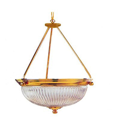 Decorative Pendant Light Polished Brass - LT3