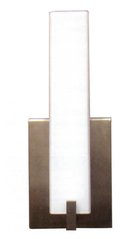 Decorative Wall Sconce Brushed Nickel Opal - LT6