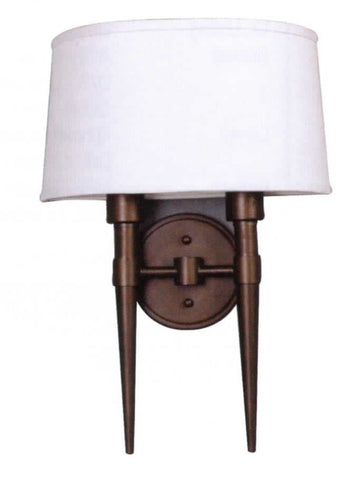 Decorative Wall Sconce 2-light Brushed Nickel - LT6