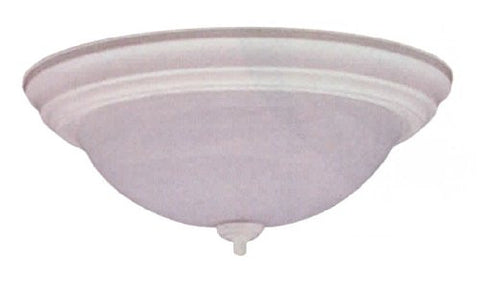 "11"" White Alabaster Dome Light - LT5"