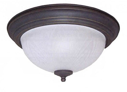 "13"" White Frost Leaf Dome Light - LT5"