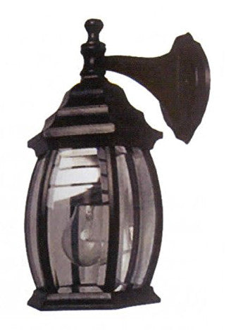 Cast Aluminum Exterior Light  Black - LT7