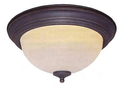 "18"" Truscan Scavo Dome Light in Oil Rub Bronze - LT5"