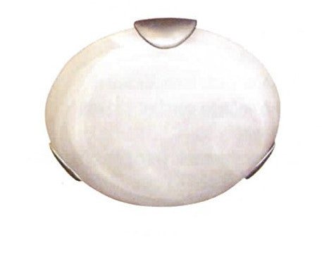 "11"" Decorative Ceiling Dome Light Brushed Nickel - LT5"