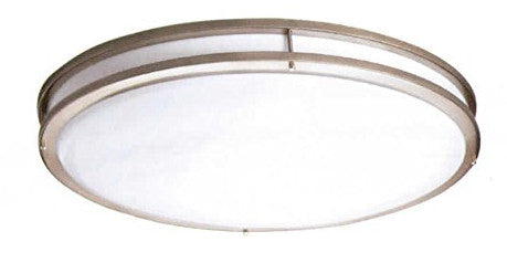 "16"" Contemporary Ceiling Mount Light Oil Rub Bronze - LT5"