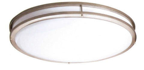 "23"" Contemporary Ceiling Mount Light Oil Rub Bronze - LT5"