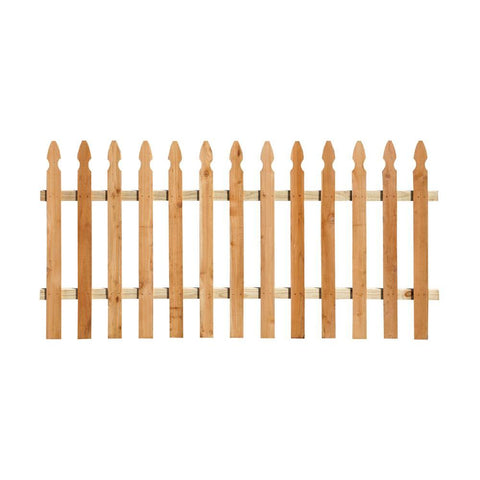 1x4x8 Gothic Fence Panel - FNC1
