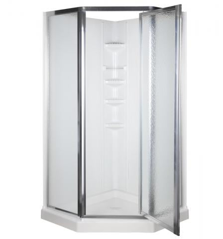 Delta Neo Angle 3pc Shower Wall Set  - BA3