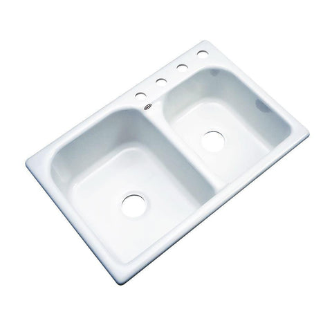 Thermocast Cambridge Drop-In Acrylic Kitchen Sink - SK4
